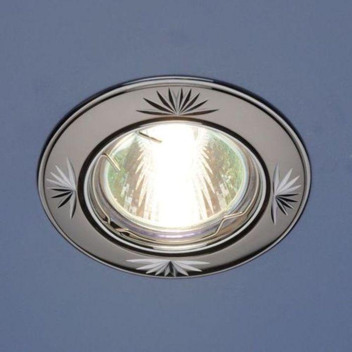 Светильник Elektrostandard MR16 GU5.3 104A CF черное серебро