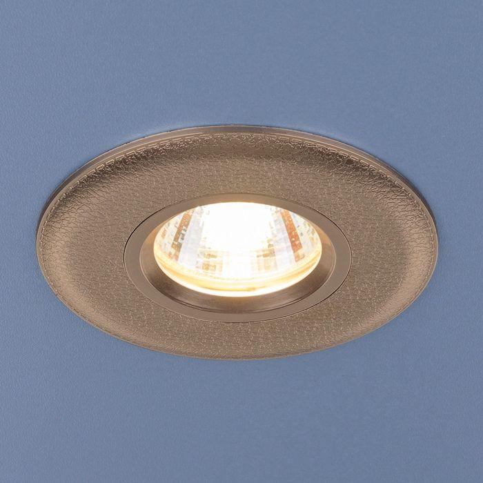 Светильник Elektrostandard MR16 GU5.3 107 золото