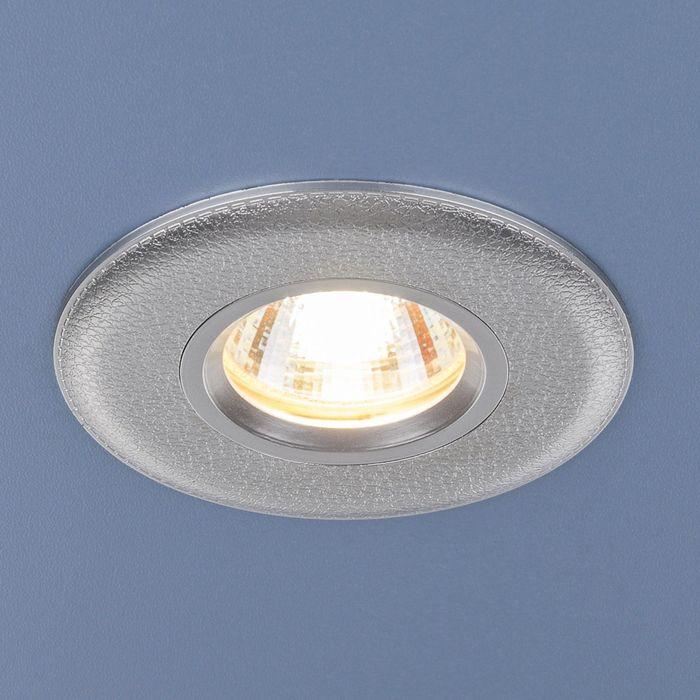 Светильник Elektrostandard MR16 GU5.3 107 серебро
