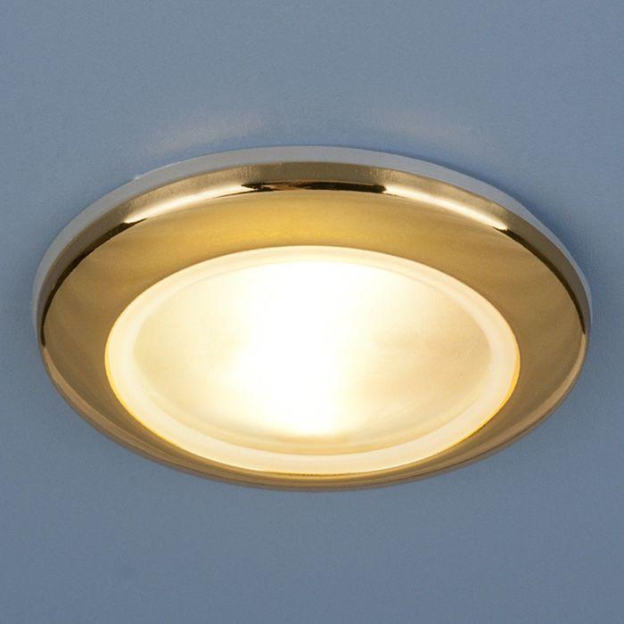 Светильник Elektrostandard MR16 GU5.3 1080 золото, пылевлагозащищенный IP44