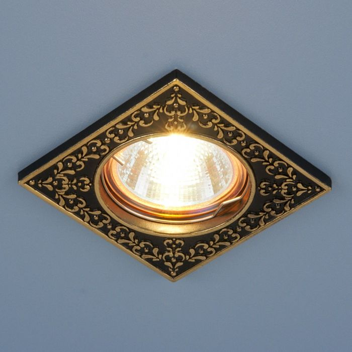 Светильник Elektrostandard MR16 GU5.3 120071 черный/золото