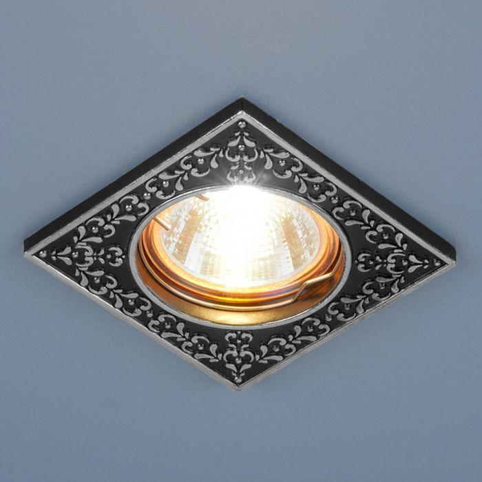 Светильник Elektrostandard MR16 GU5.3 120071 черный/серебро