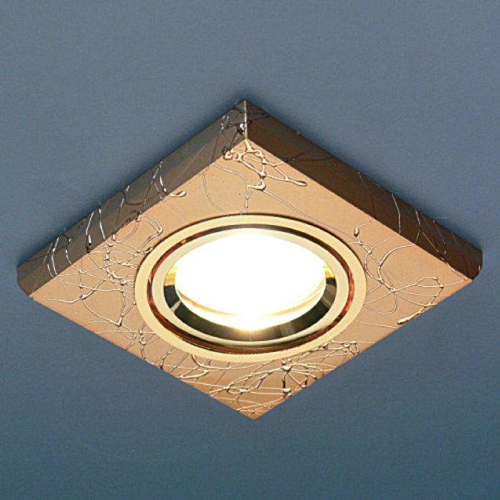 Светильник Elektrostandard MR16 GU5.3 2080 золото