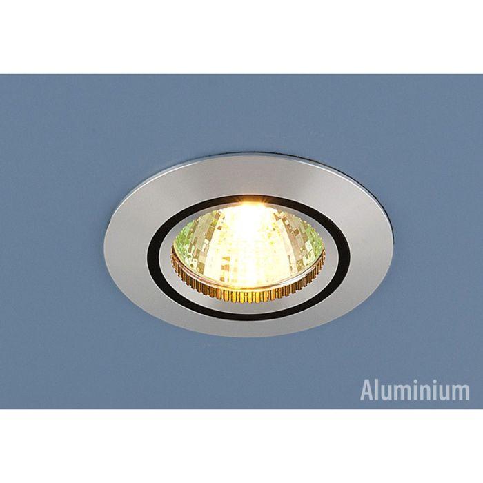 Светильник Elektrostandard MR16 GU5.3 5106 сатин серебро/черный, алюминий