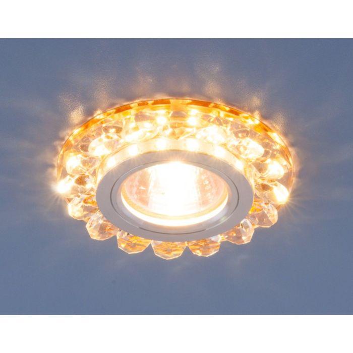 Светильник Elektrostandard MR16 GU5.3 6036 золото, LED подсветка