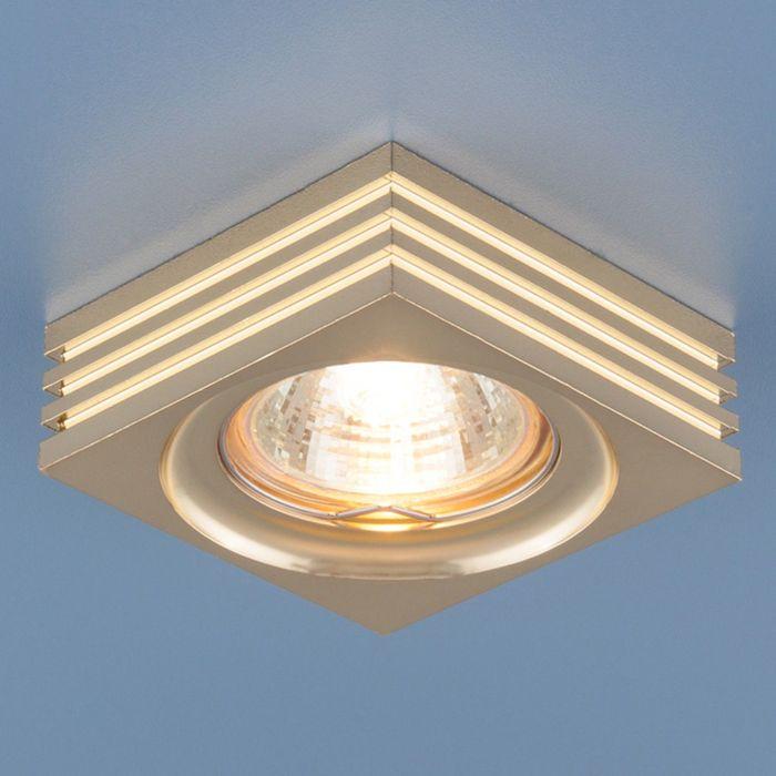 Светильник Elektrostandard MR16 GU5.3 6064 золото