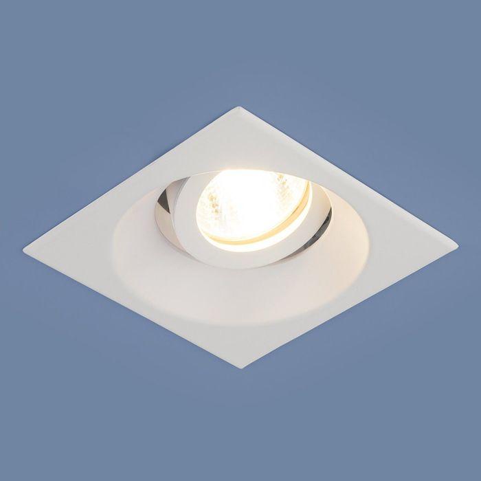 Светильник Elektrostandard MR16 GU5.3 6069 белый, алюминий