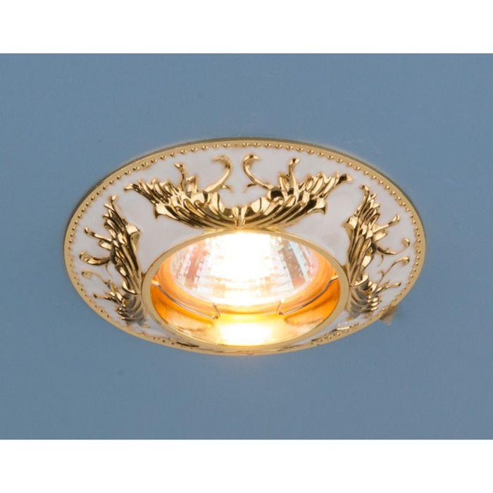Светильник Elektrostandard MR16 GU5.3 7217 золото/белый