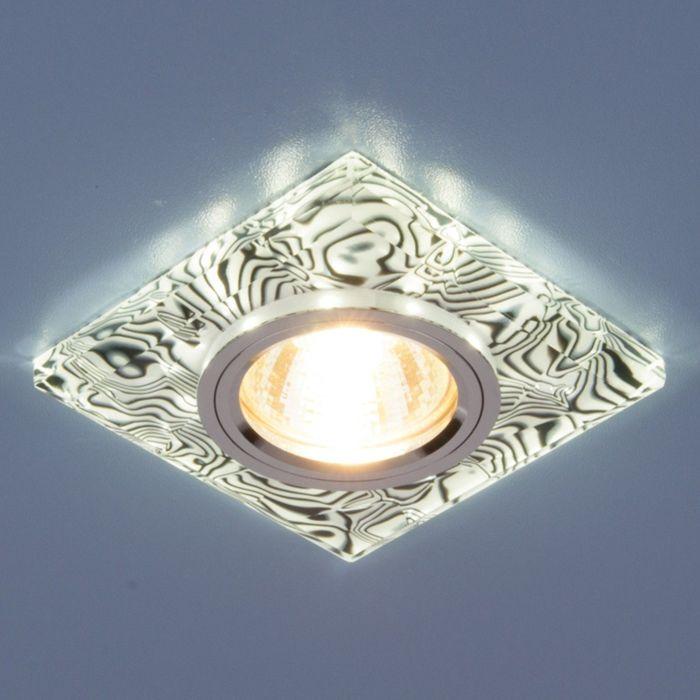 Светильник Elektrostandard MR16 GU5.3 8361 белый/черный, LED подсветка