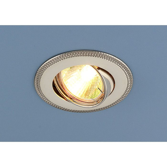 Светильник Elektrostandard MR16 GU5.3 870A перл.серебро/никель