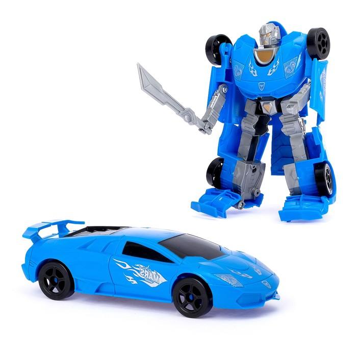 Робот-трансформер «Спортболид», цвета МИКС