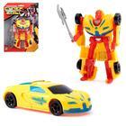 """Robot transformer """"Supercar"""", MIX colors"""