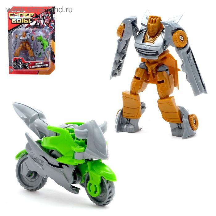 Робот-трансформер «Автобот», набор 2 штуки