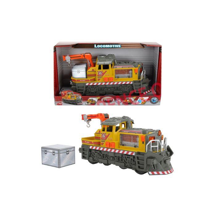 Ремонтный локомотив на свободном ходу