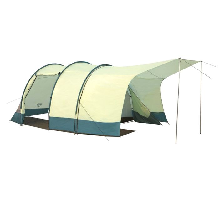 Палатка TripTrek 4-местная (135+220+135)х280х200см 68013