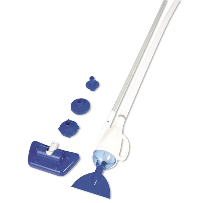 Пылесос для бассейна, вакуумный, 3 предмета: 2 насадки, ручка 190 см, 58212 Bestway
