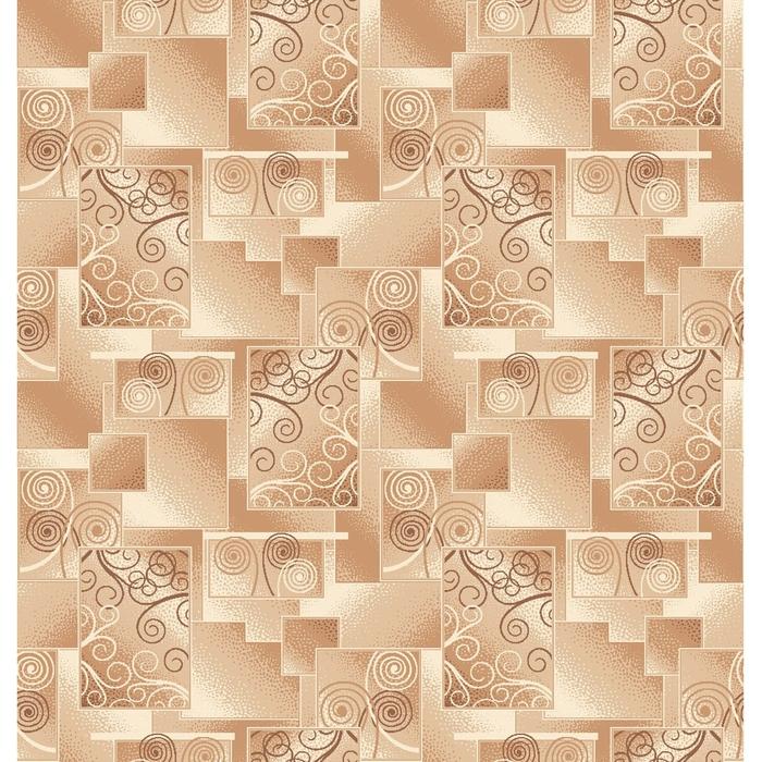 Палас Энигма, размер 200х300 см, цвет бежевый, войлок 195 г/м2