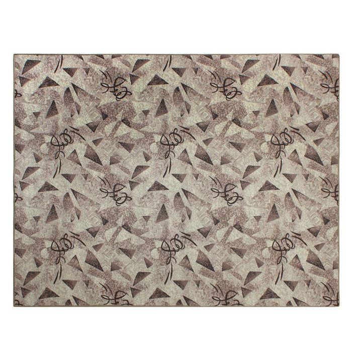 Палас Карамель размер 200х250, цвет серый , войлок195 г/м2