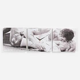 Часы настенные модульные «Любовь», 35 × 110 см