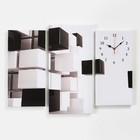 Часы настенные модульные «Абстракция», 60 × 80 см