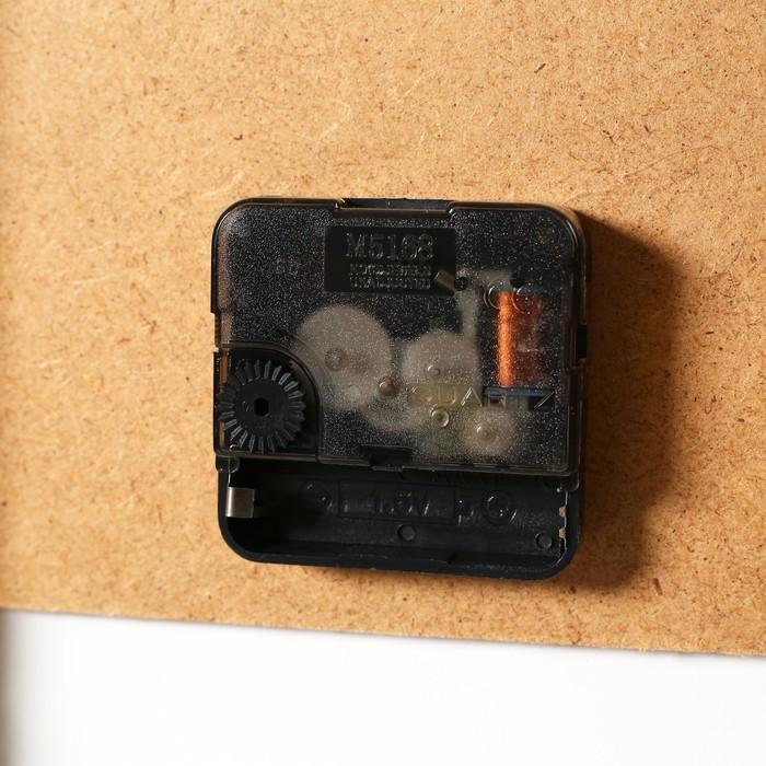 Часы настенные модульные «Бабочка на сиреневых цветах», 60 × 80 см