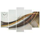 Часы настенные модульные «Абстракция», 80 × 140 см