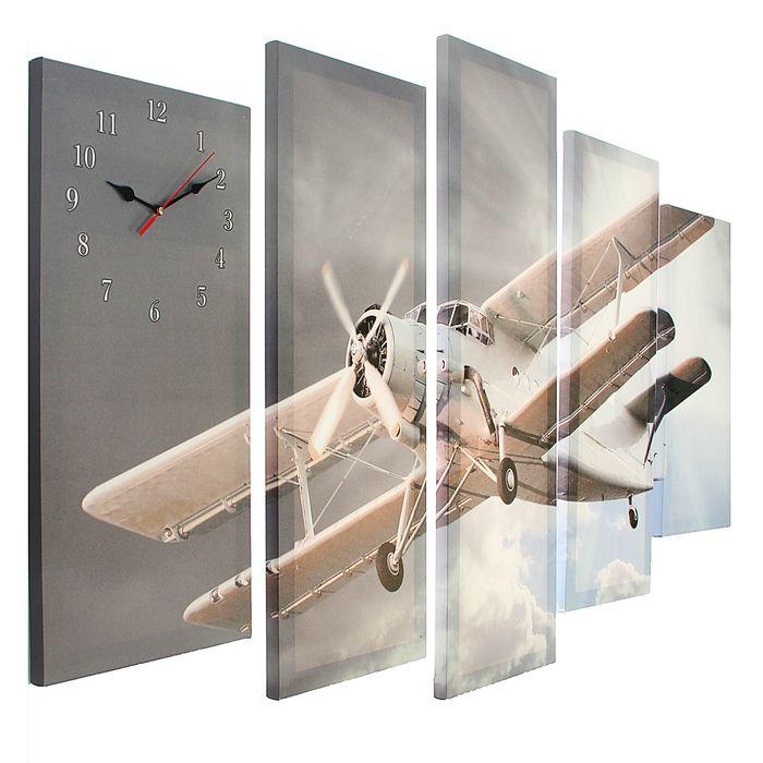 Часы настенные модульные «Ан-2», 80 × 140 см