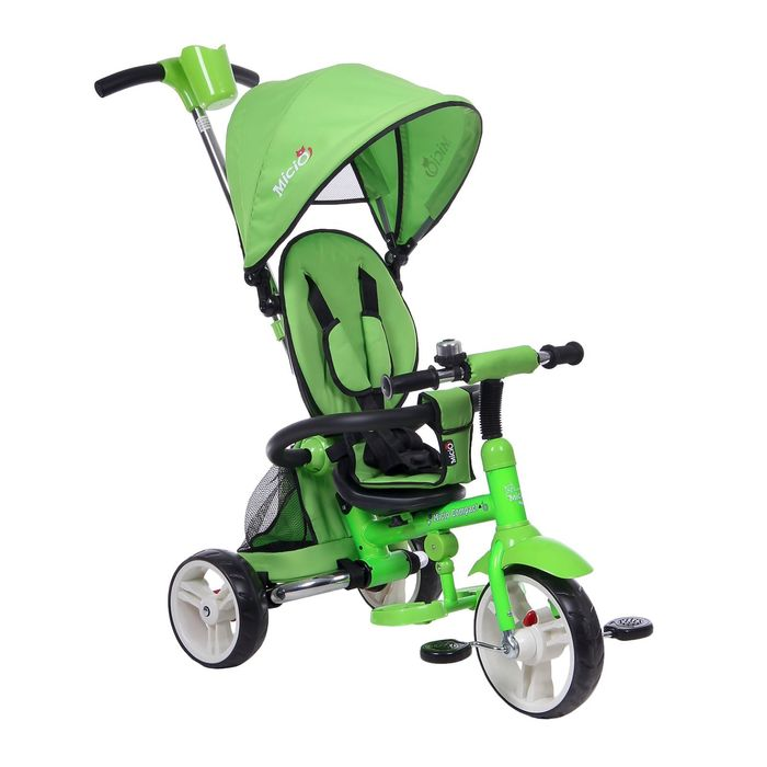 """Велосипед трёхколёсный Micio Compact 2017, колёса EVA 10""""/8"""", цвет салатовый"""