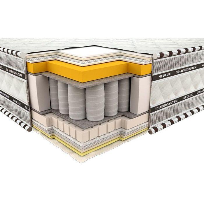 Матрас 3D Империал Мемори-латекс, размер 90х200х23 см, трикотаж