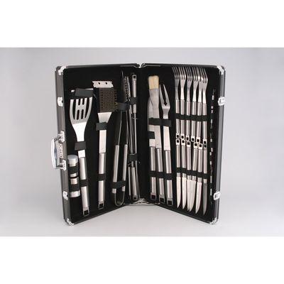 Набор аксессуаров для барбекю IGNIS, 31 предмет, в чёрном чемодане