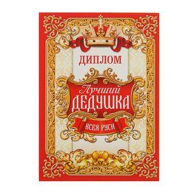 Диплом 'Лучший дедушка всея Руси' Ош