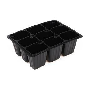 Cassette for seedlings, 9-cell, 80 ml, set of 10 PCs