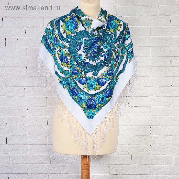 Платок текстильный женский FC499_22-7, размер 90х90 см