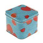"""Подарочная коробка """"Джинс"""", куб, 7.6 х 7.6 х 6.5 см"""