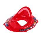 Детская накладка на унитаз Disney «Тачки» антискользящая, цвет красный