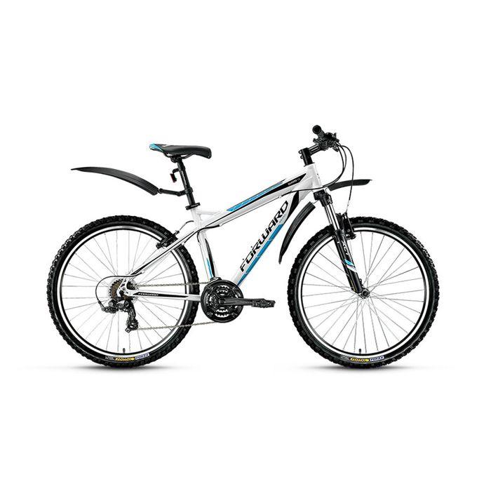 "Велосипед 26"" Forward Quadro 1, 2016, цвет белый, размер 17"""