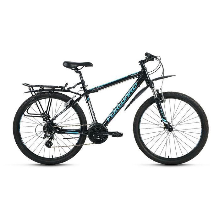 "Велосипед 26"" Forward Yukon 1.0, 2016, цвет черный, размер 17"""
