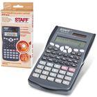 Калькулятор инженерный 10+2-разрядный STAFFSTF-810, двойное питание, 181х85 мм