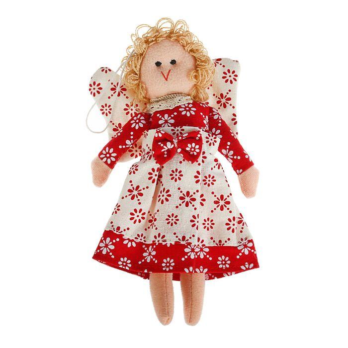 Мягкая игрушка кукла «Ангелок», с подвесом, цвета МИКС