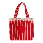 """Gift bag """"Heart"""" with edge, MIX color"""