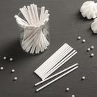 Набор палочек-дюбелей для кондитерских изделий, длина 10 см, 50 шт