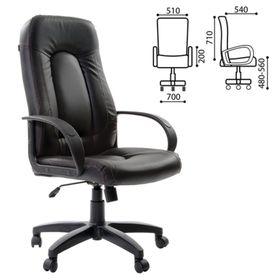 Кресло офисное BRABIX Strike EX-525, экокожа чёрная