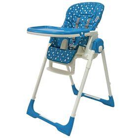 "Стол-стул ""Crystal"" (PVC FABRIC)/Голубой"