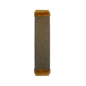 Когтеточка ЗВЕРЬЕ МОЕ, М-2, ковровая с мехом, средняя, 60*13*3