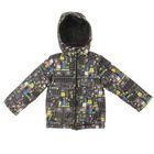 Куртка для мальчика, рост 134 см, цвет чёрный КМ-10/28