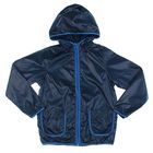 Ветровка для мальчика «Дождик» непромокаемая, синий, рост 122 см (32)