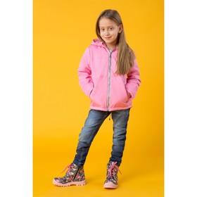 """Куртка для девочки """"Минни"""", рост 104 см (28), цвет розовый ДД-0627"""