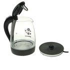 Чайник электрический Sakura SA-2710BK, стекло, 1.7 л, 1850-2200 Вт, подсветка, черный - фото 896445