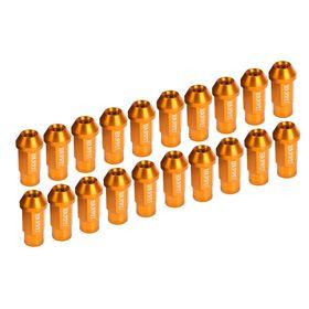 Гайки колёсные, 12x1,5, конус, цвет золото, набор 20 шт.