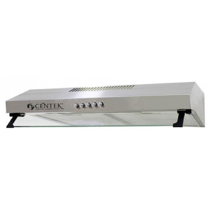 Вытяжка Centek CT-1800-60 SS, плоская, 220 м3/ч, 3 скорости серебристый